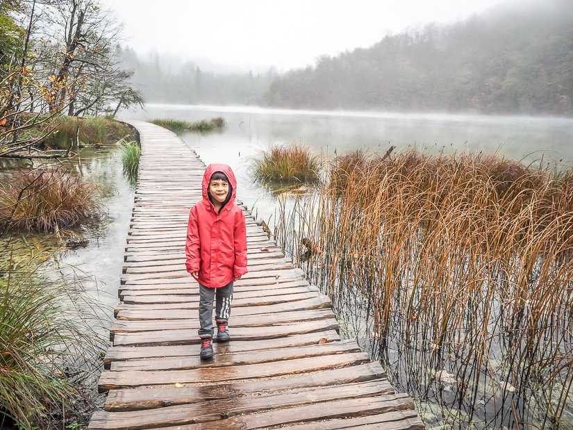 Visiting Plitvice Lakes National Park with kids