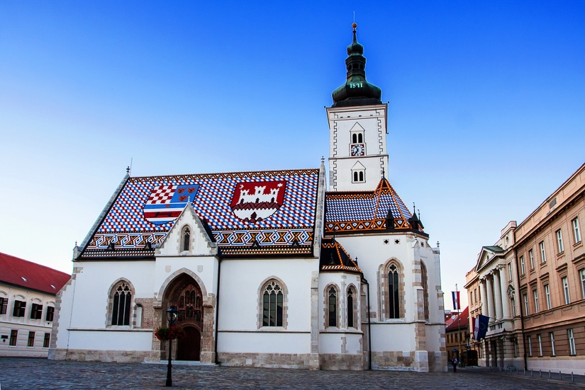 St. Mark's Church in Zagreb, some your family will love if you're visiting Zagreb with children