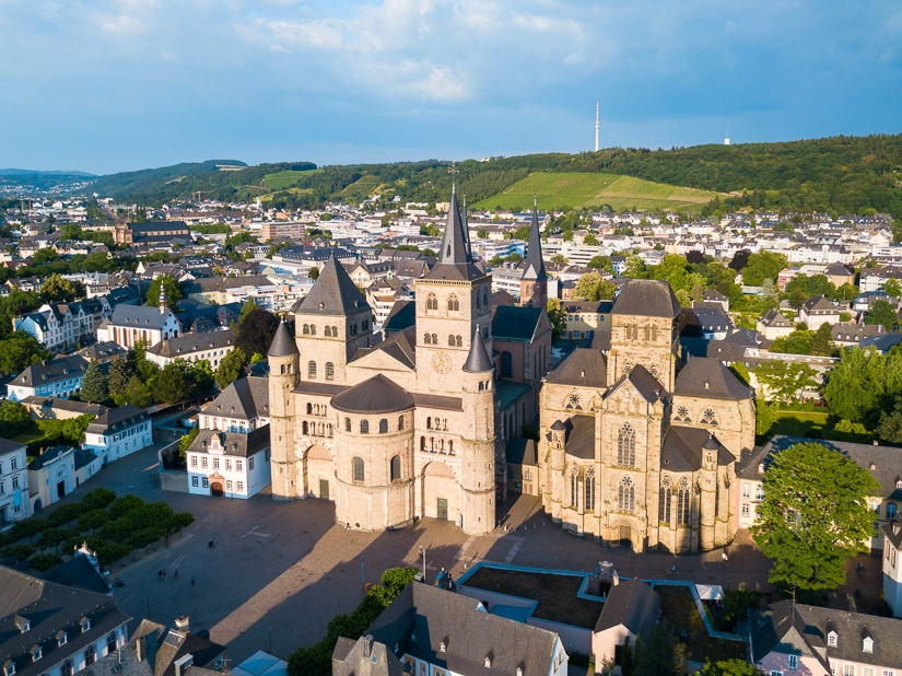 Trier Cathedral, one of the many pilgrimage in Germany