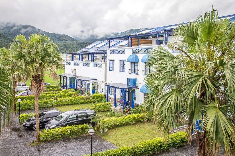 A typical minsu (guesthouse) in Luodong, Yilan. The are the best places to stay in Yilan for families or groups