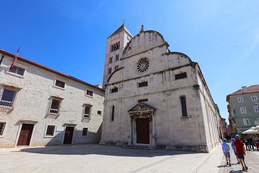 Visiting Zadar with kids in Croatia