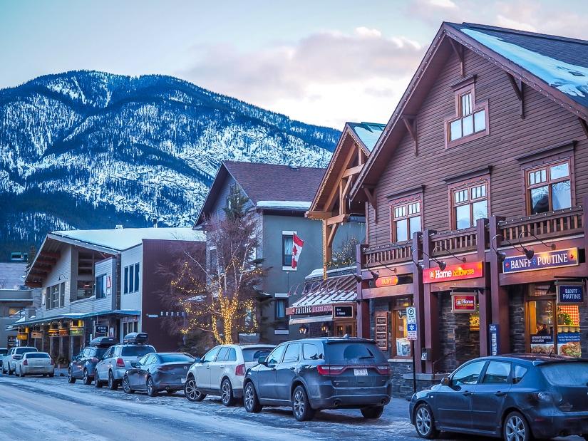 Bear Street, Banff town
