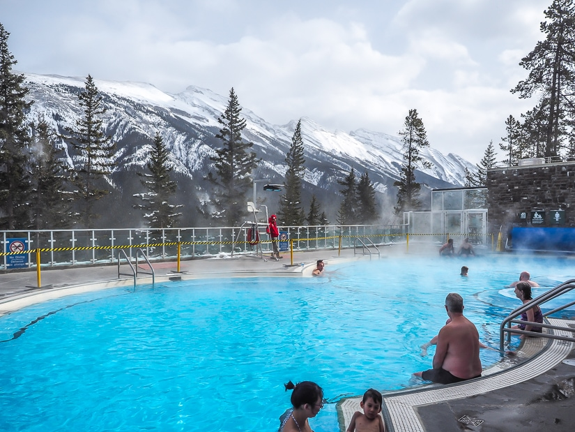 Banff Upper Hot Springs on Sulfur Mountain