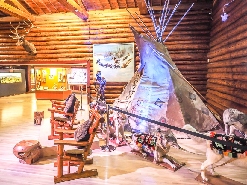 Buffalo Nations Museum, an indigenous culture museum in Banff