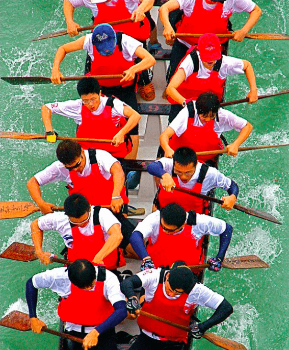 Dragon Boat Racing, one of the best spring events in Taiwan