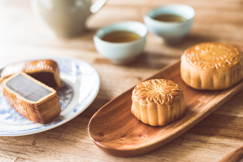 Moon Cakes, which are eaten during Moon Festival, one of the biggest Taiwan September events
