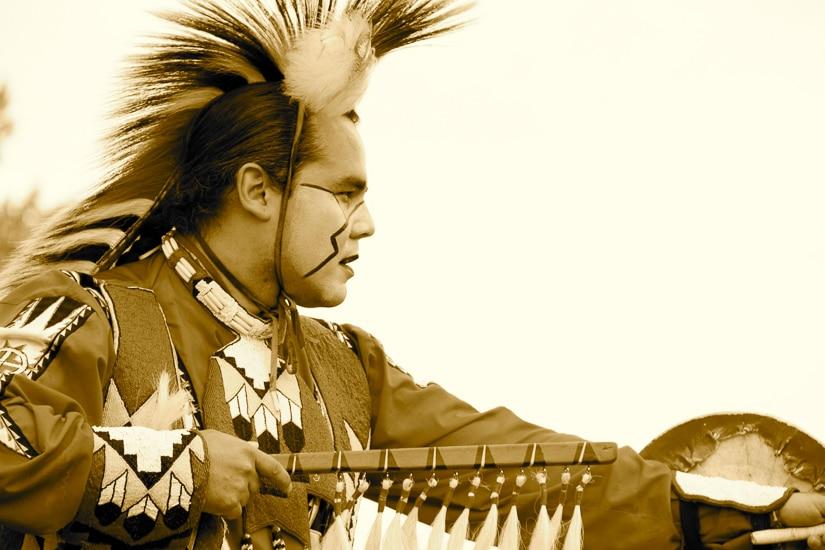 Alberta indigenous dancer