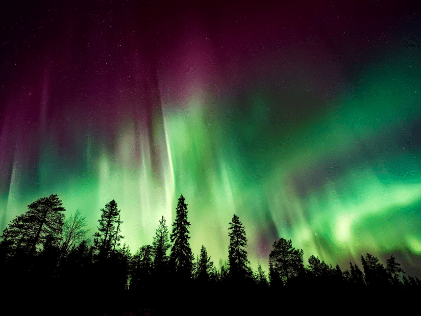 Aurora Borealis (Norther Lights), one of the top Alberta experiences