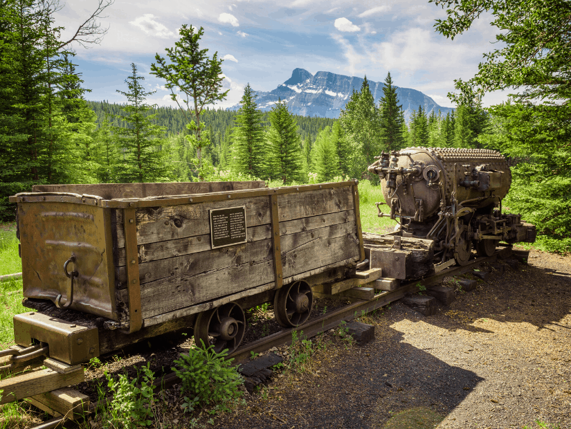 Bankhead Ghost Town in Banff National Park