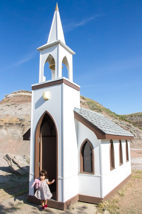 Little Church in Drumheller