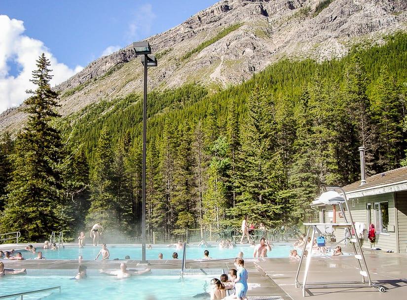 Miette Hot Springs, Alberta