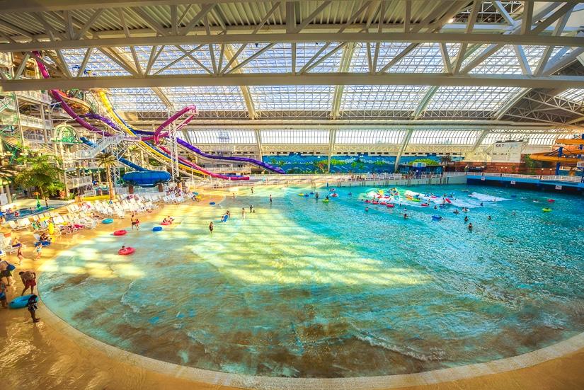 The West Edmonton Mall Waterpark