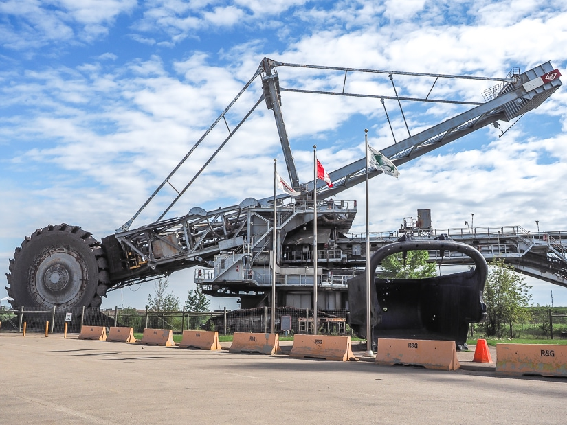 Bucketwheel, Syncrude Giants of Mining, Fort McMurrary Canada