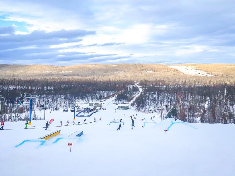 Vista Ridge Ski Hill in Fort McMurray