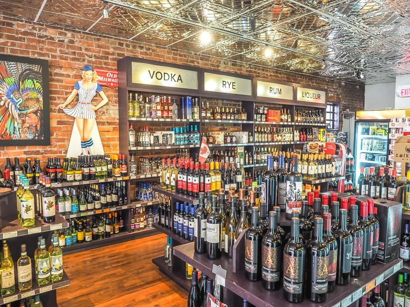 Aberdeen Spirits, one of the best liquor strores in Medicine Hat