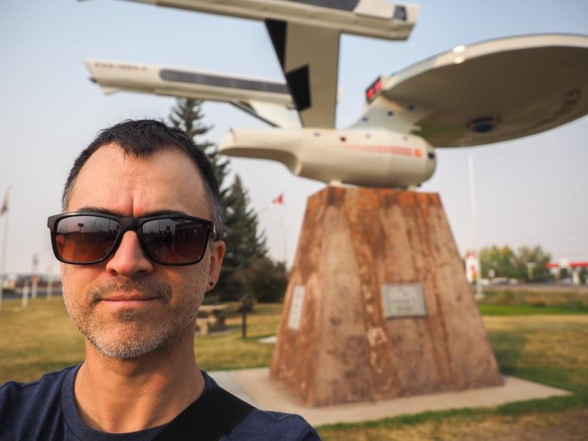 Starship Enterprise in Vulcan Alberta