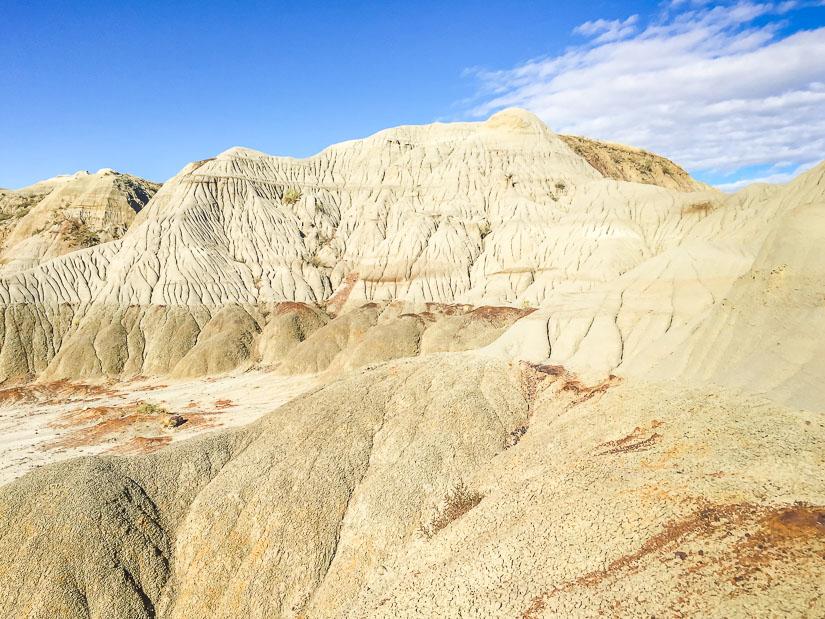 Dinosaur Provincial Park nature reserve hills