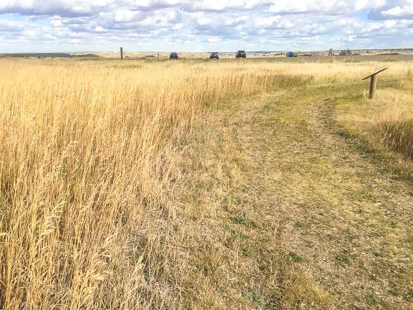 Prairie Trail, Dinosaur Prov Park