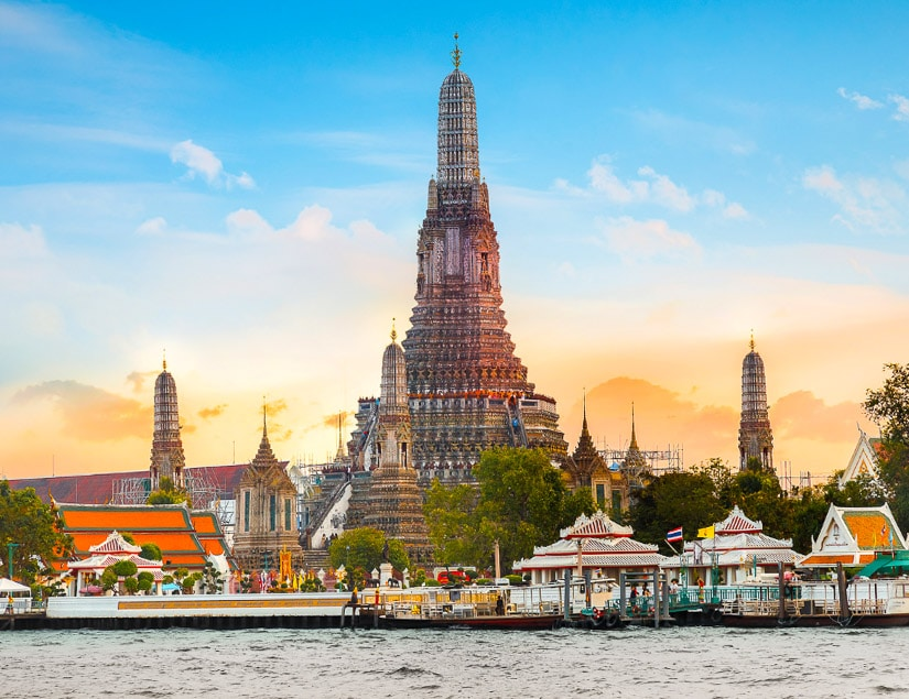 Wat Arun, one of the best temples in Bangkok