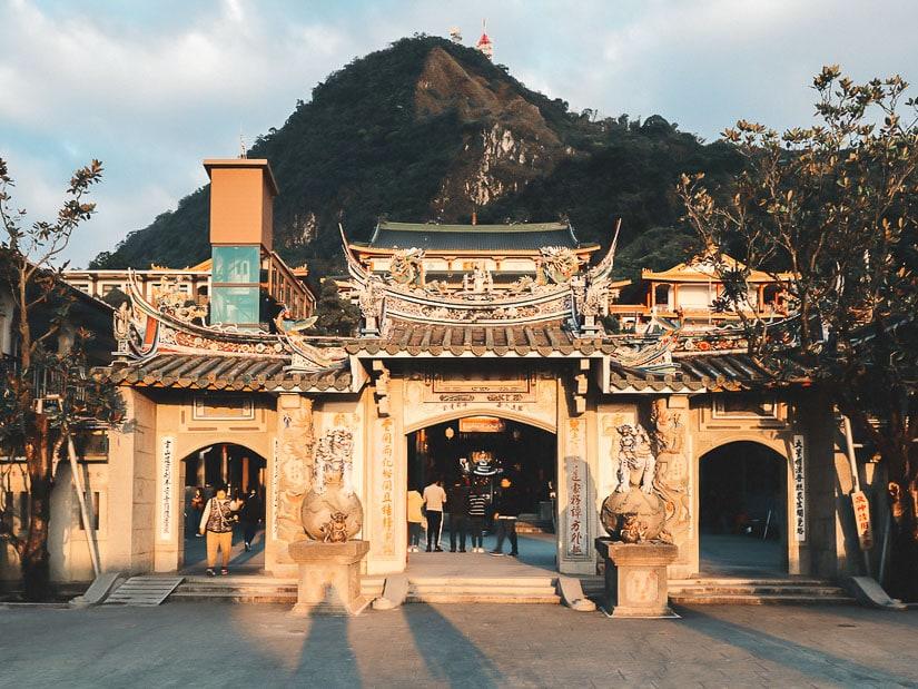 Huoshan Biyun Temple in Guanziling, Tainan