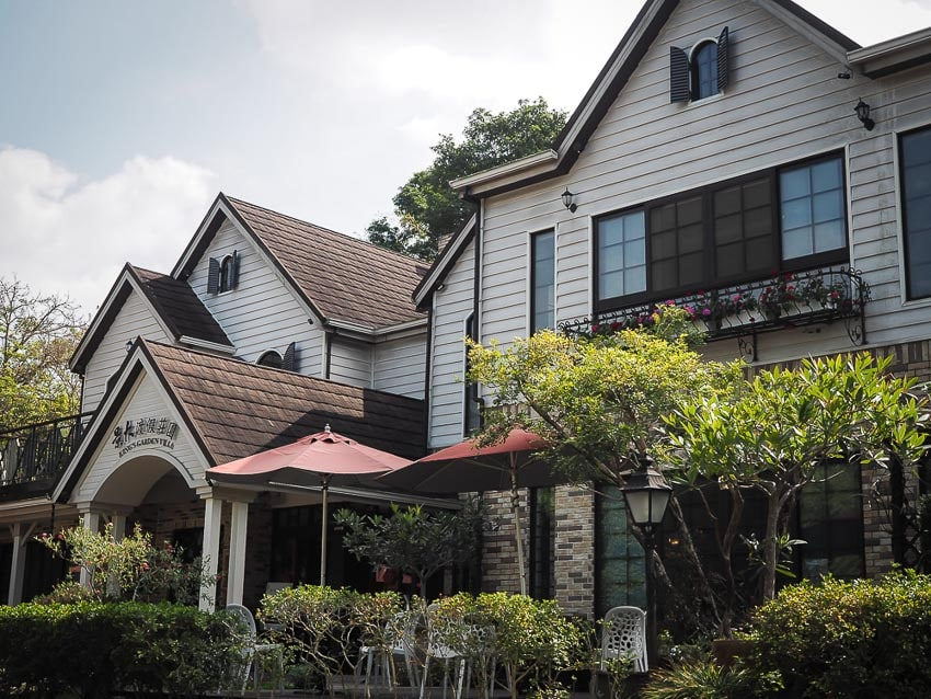 Exterior of King's Garden Villa in Guanziling Taiwan