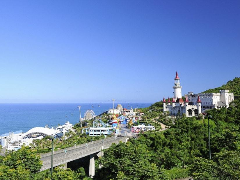 Farglory Ocean Park in Hualien, Taiwan