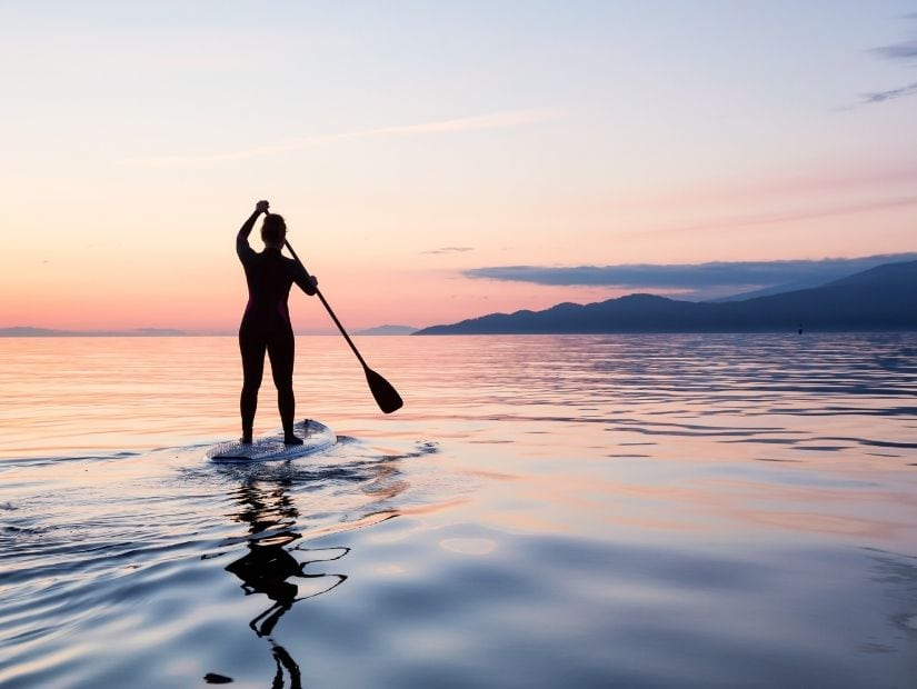 SUP (Stand up Paddle Boarding) on Sun Moon Lake