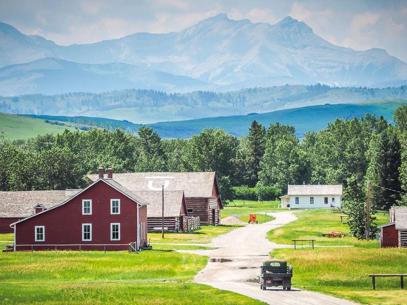 Bar U Ranch National Historic Site