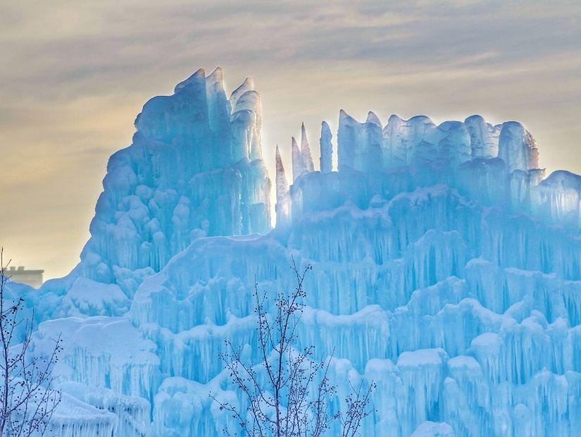 Ice Castle in Hawrelak Park, Edmonton
