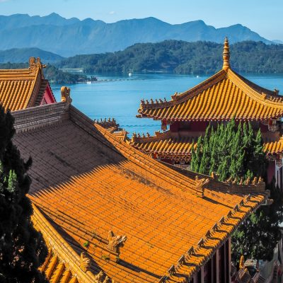 Sun Moon Lake, which can even be visited in one day from Taipei
